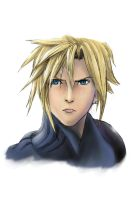 Cloud Strife : Doodle Color by spirapride