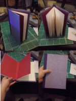 Handmade book by CJKitty12