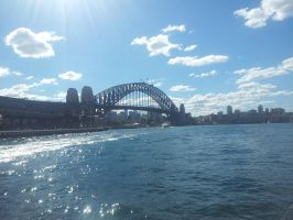Sydney Harbour Bridge by RainDropsOfLife