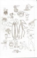 Creepy Pasta sketches by ECN13000