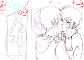 WIP[[drunk OTP shipping]]WIP by Captain-Hotpants