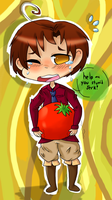 Tomatoes are heavy by HetareDoodle