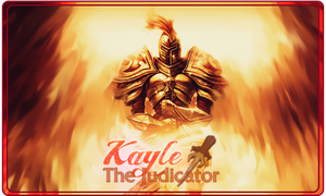 Signature Kayle The Judicator League of Legends by Ellanna-Graph