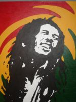 Bob Marley by saintrok