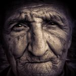 portrait of an old peasant by rubertu