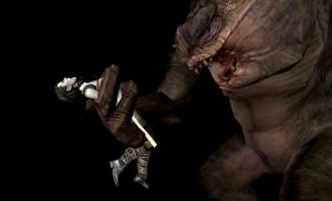 Maris and the Rancor! 1 by VoreQ