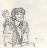 Another Kili sketch by CaptBexx