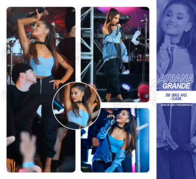 Photopack #159 - Ariana Grande. by TheNightingale01
