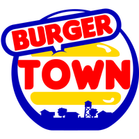Vector burger town logo by ASI-Military