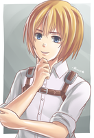 Armin Arlert [Attack on Titan] by RiNCO-XV