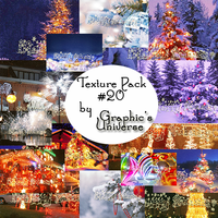 Texture Pack #20 by Christmas Graphic's Universe by GraphicsUniverse