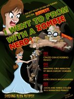 Zombie Nerd Prom by 2DCale