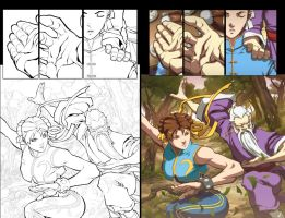 Street Fighter II-5 Backup pg4 by ChristopherStevens