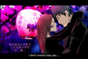 Obito and Rin: I don't wanna lose you... by Lesya7