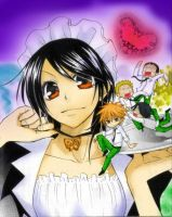 kaichou wa maid-sama by chocolateloove