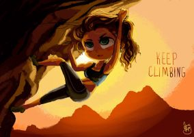 Keep Climbing by rue789