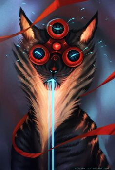 FIDGET SPINNER CAT by Neytirix