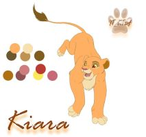 Kiara ref sheet by it-ktdf