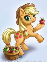 Applejack by SailorMoonAndSonicX