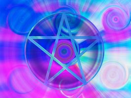 Spiral Pentacle by LakesideMaiden