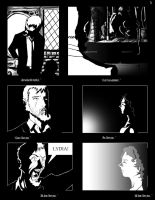 Page Three of the Scratch Graphic Novel. by VladimirJazz