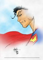 Superman Coloured by LukeBatt