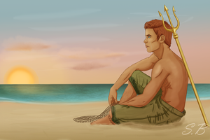 Finnick I'll Cry With You by sbrigs