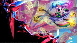 [LoL] Wallpaper - Arcade Sona by sHao-taisa