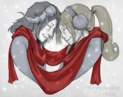 Happy holidays by KuroReiOokami