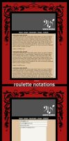 roulette notations by f1lly