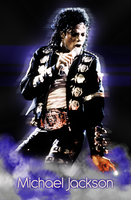 Michael Jackson Poster 3 by Maxoooow