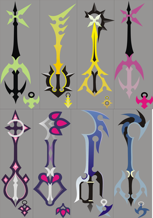 Love and Lust Kingdom_Hearts_358_2_Keyblades_by_nativetech