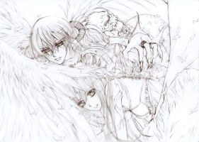 Vampire Knight - sketch by Fighter-chan