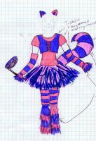 The Cheshire Cat costume by Hoejfeld