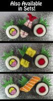 New Sushi Magnet Sets! by AlwaysSuagarCoated