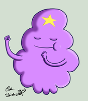 Day 12 - Lumpy Space Princess by LinkSketchit