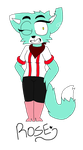 -Furry OC- Rose by Sinful-Slime