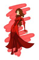 Scarlet Witch revamped by Sarniel