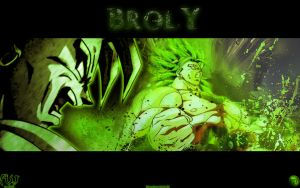 Broly Wallpaper by MarvelousMark
