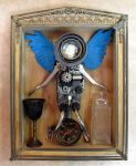 Steampunked Music Box Assemblage WIP by zimzim1066