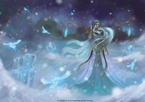 Lady Winter by Jessica-Prando