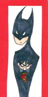 Young Justice Daddy Bats by Kittychan2005