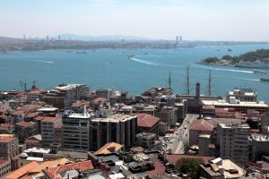 Istanbul - View from Galata Tower II by puppeteerHH
