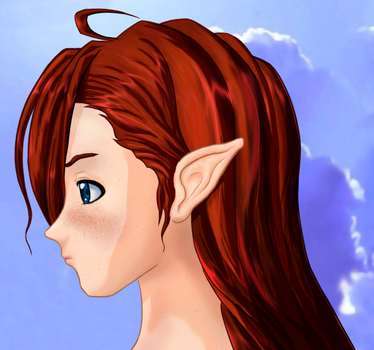 Elven red by archon357