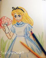 Alice in Wonderland by sunshinesmile7