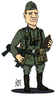 German_Army_WWII_Soldier by darthpandanl