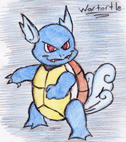 8 - Wartortle by JacobMace