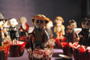 Doctor Who 50th Anniversary: Tea Party by Monicmon