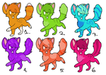 Cat Adoptables 1 OPEN by Cat-Point-Adopts