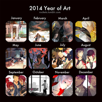 2014 year of art by hakuku